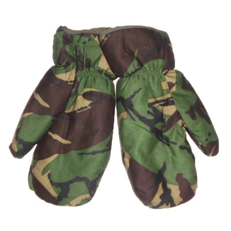 9261d93ee96 vojenské palcové zimní rukavice - palčáky